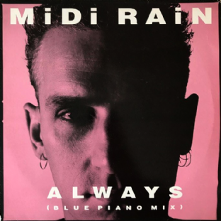 "Midi Rain ‎- Always (Blue Piano Mix) (12"") (VG-/G++)"
